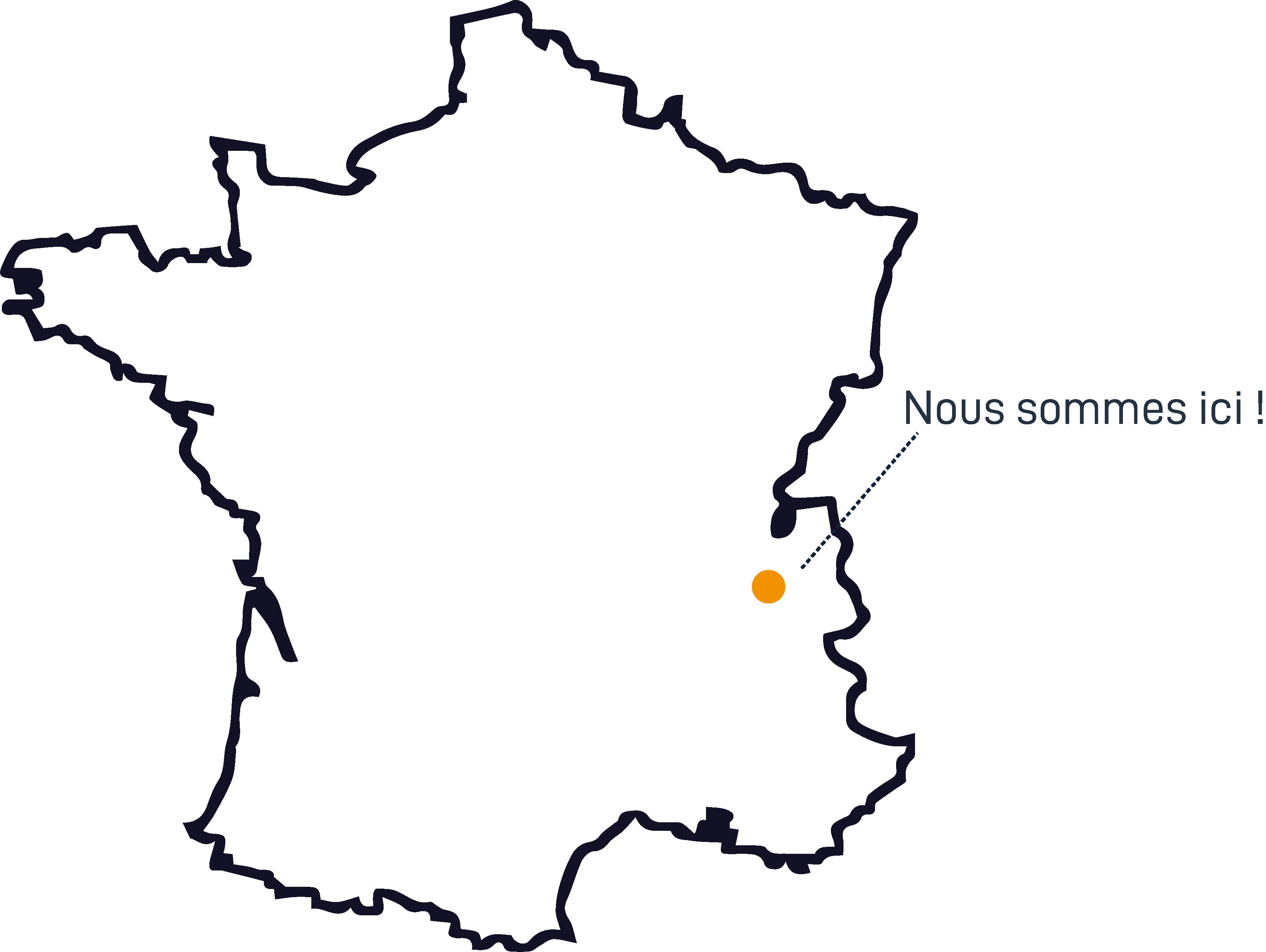 NC Communication | Nous situer | Rhône-Alpes, France | Savoie, Isère
